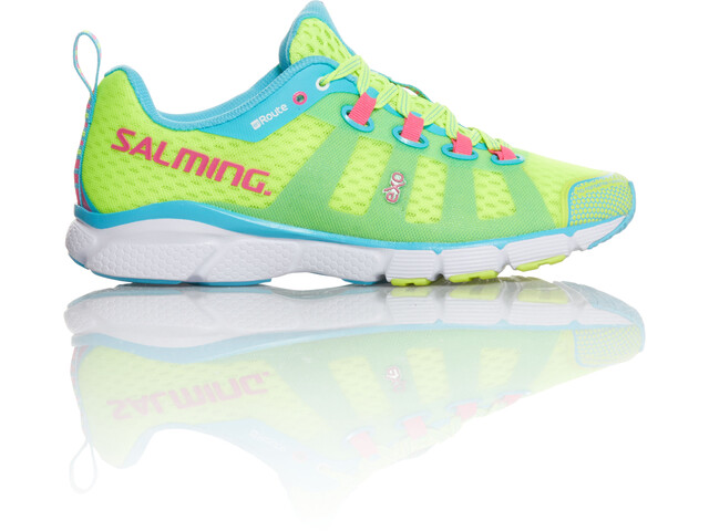 Salming enRoute Zapatillas Mujer, fluo yellow